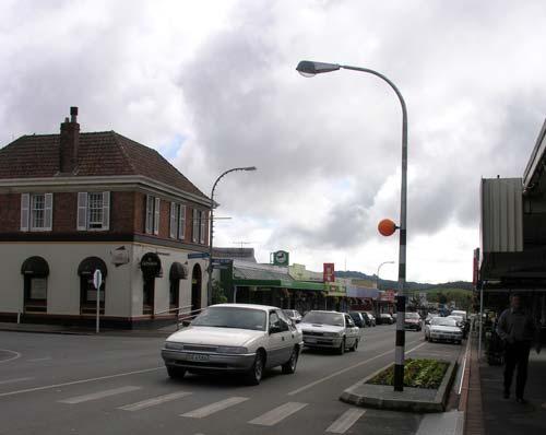 Kaikohe main street