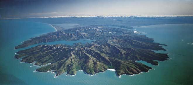 Extinct volcanoes, Banks Peninsula