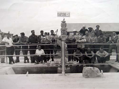 Kāpuni 1 well