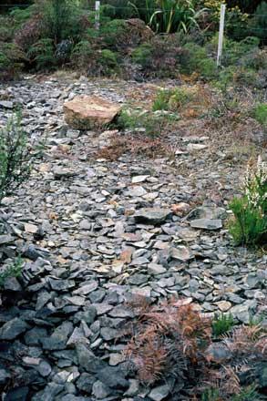 Adzite quarry