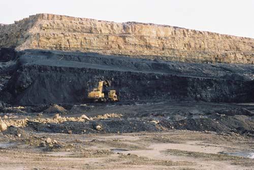 Opencast coal mine, Buller Coalfield