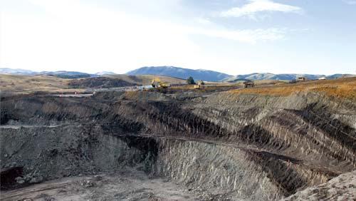 Ōhai opencast mine