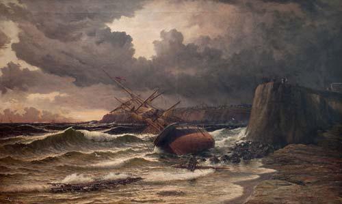 Wrecked off Timaru