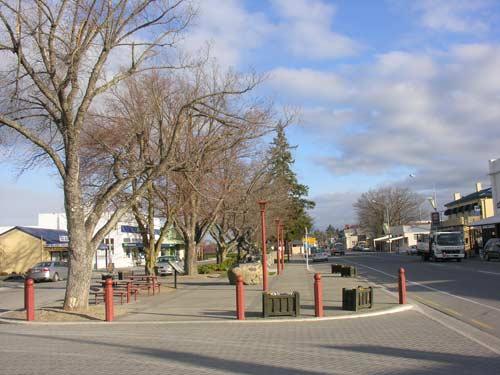 Fairlie's peace avenue