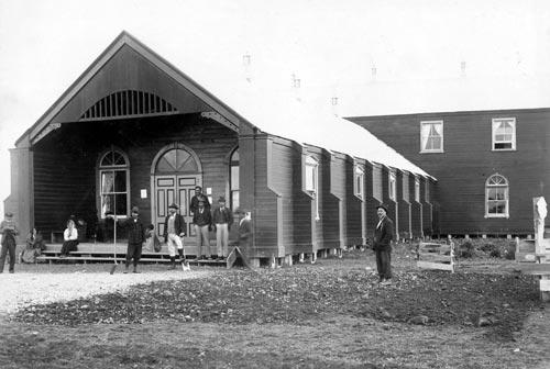 Aotea and Te Waipounamu buildings