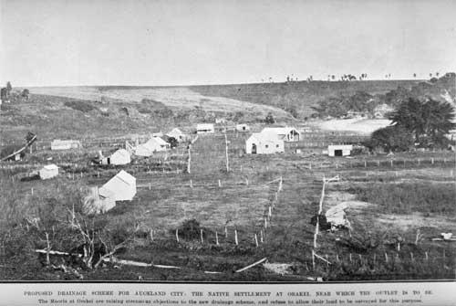 Ngāti Whātua settlement at Ōkahu Bay