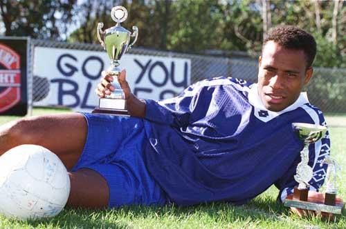 Solomon Islands football player Batram Suri