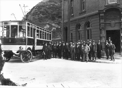 No. 1 trolley bus