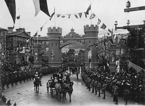 1901 royal visit