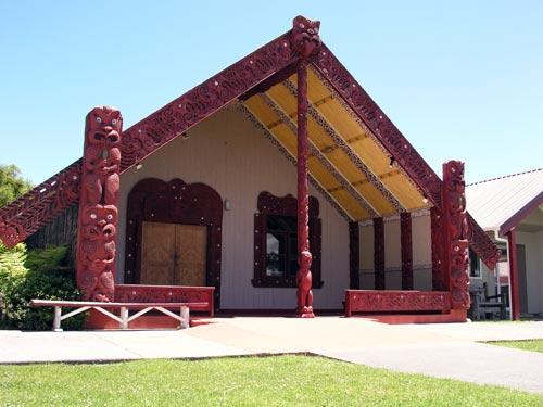 The meeting house Toa Rangatira