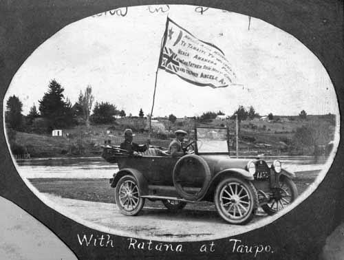 Wiremu Rātana in Taupō