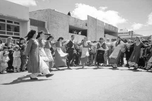 Cypriot dancing exhibition