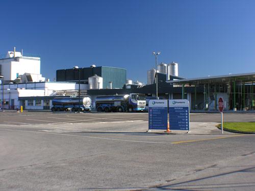 Fonterra factory, Reporoa