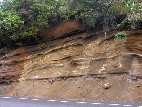 Volcanic soil, Desert Road