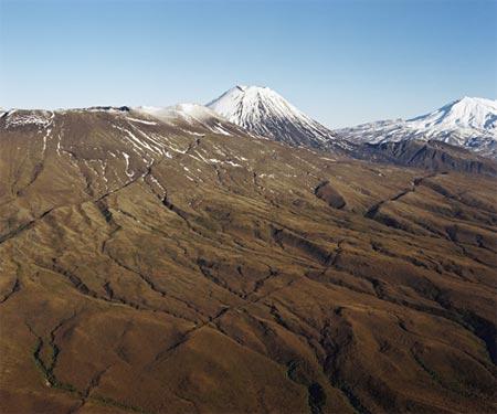 Tongariro me Ngāuruhoe