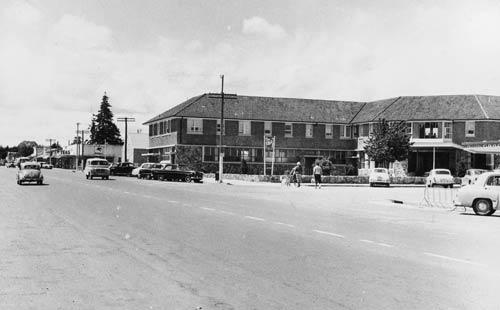 Lake Hotel, Taupō, around 1956