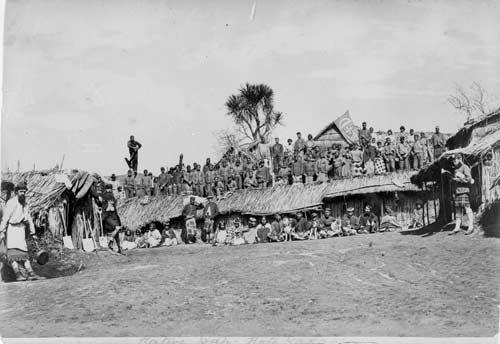 Gilbert Mair and the Arawa Flying Column