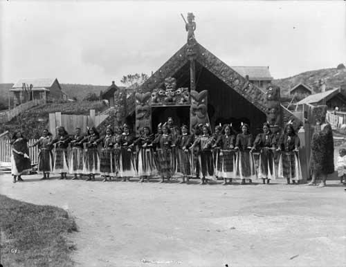Early tourist attractions, Whakarewarewa