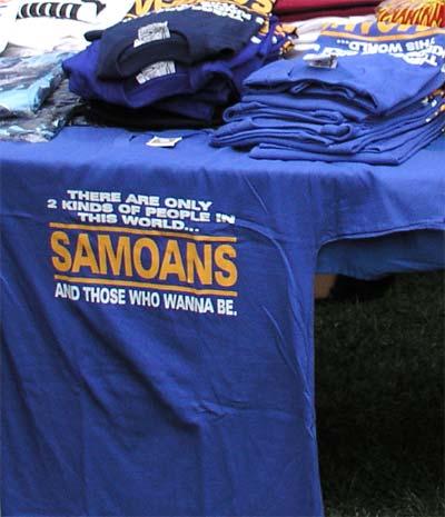 'Samoans' T-shirt