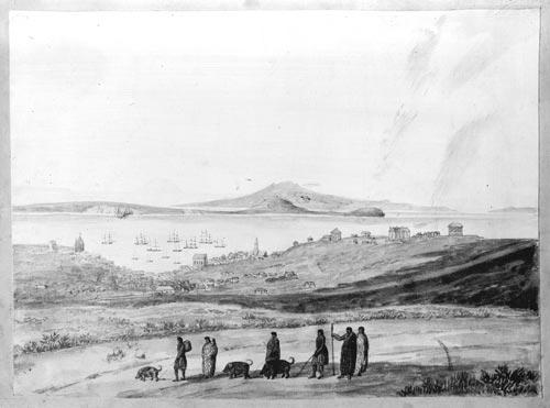 Māori traders, 1850s Auckland