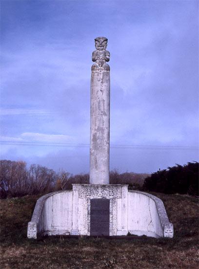 Monument at Kaiapoi