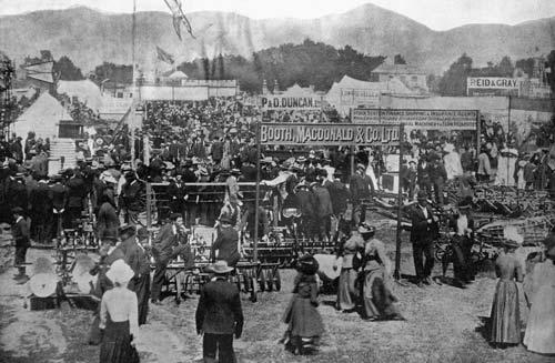 Canterbury show, 1901