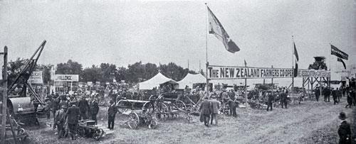 Farmers' cooperative display