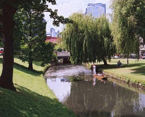 Spring-fed river