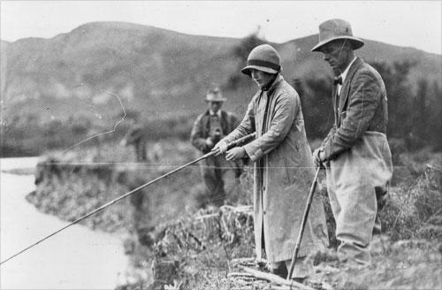 Duchess of York fishing