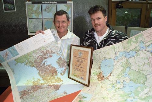 International cartography awards