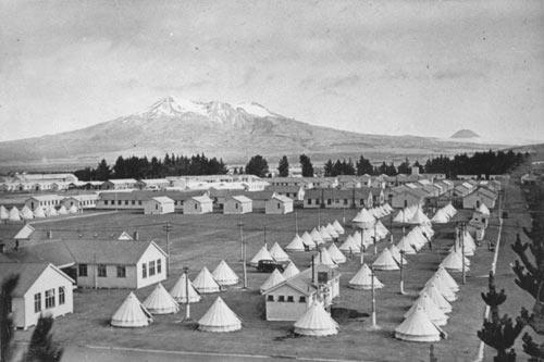 Waiōuru military camp, 1940s