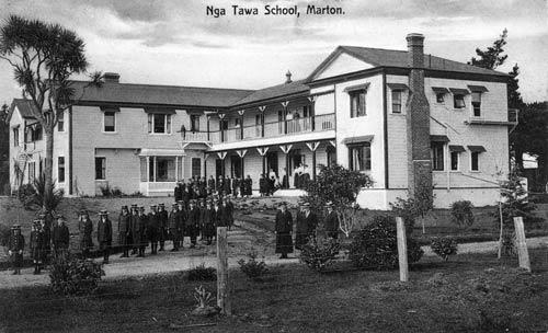 Nga Tawa school, around 1920