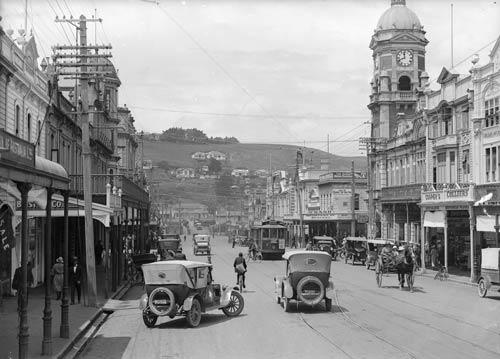 Victoria Avenue, Whanganui, 1920s