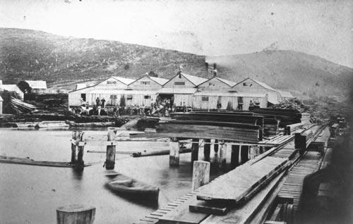 Tairua, 1880s