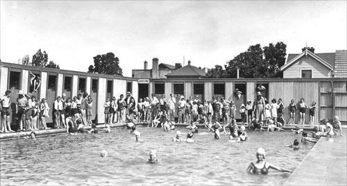 Rangiora swimming pool