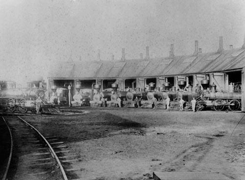 Invercargill railway yard