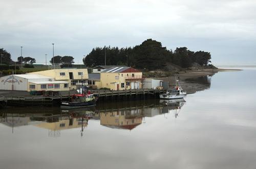 Fishing boats, Riverton/Aparima