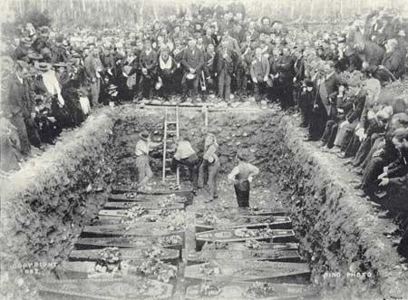 Mass grave at Stillwater