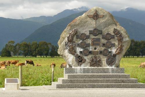 Kōwhitirangi memorial