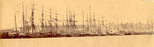 Hokitika port, 1867