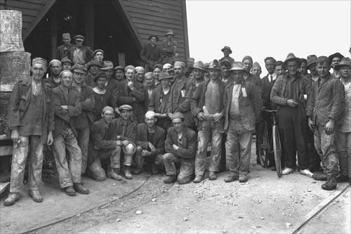 Waiuta miners