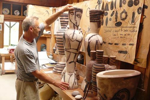 John Crawford, ceramic artist