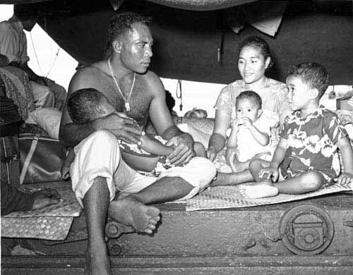 A Tokelauan family, 1966