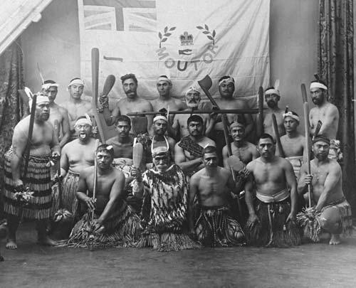 Ngā Māori o Whanganui me te haki o Moutoa
