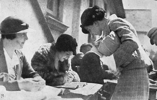 Te haere ki ngā pōti, i te tau 1935