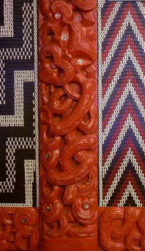 Carving of Tānenui-a-rangi