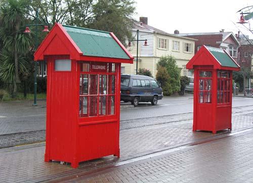The telephone box war