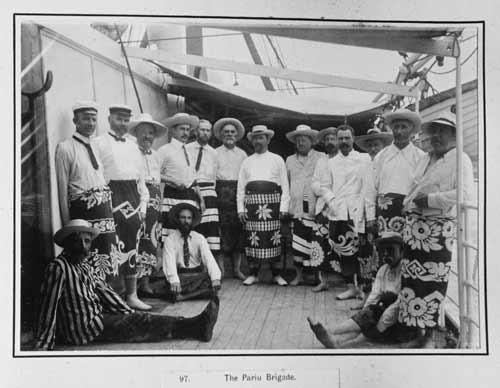 Ngā kaitōrangapū e haereere ana i Te Moananui-a-Kiwa ki te tonga, i te tau 1903