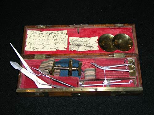 Surgeon's medical kit