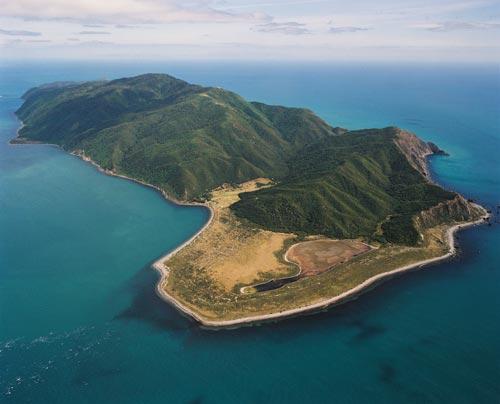 Kāpiti Island, a natural fortress
